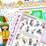 Weather and Emotions Dev Worksheet Arşivi