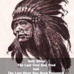 Kızılderili Özlü Söz (Poster)