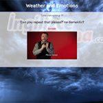 Weather and Emotions Bilgi Yarışması